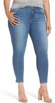 Plus Size Women's Wit & Wisdom Ab-Solution Ankle Skinny Jeans
