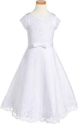 Us Angels Embroidered A-Line Dress
