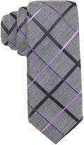 Alfani Men's Purple Skinny Tie, Only at Macy's