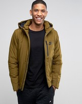 Nike Hooded Jacket In Green 810856-368
