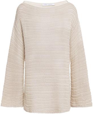 IRO Esie Open-knit Cotton Sweater