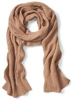 Banana Republic Italian Cashmere Blend All-Over Cable Scarf