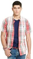 Polo Ralph Lauren Slim-Fit Plaid Poplin Shirt