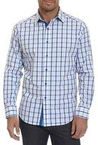 Robert Graham Windowpane Dobby Sport Shirt