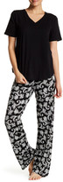 Joe Fresh Printed Flare Pant