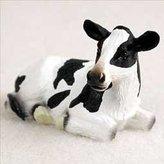 Mini A Ture Holstein Cow Miniature Figurine