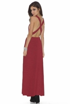 Lovers + Friends Feelin' Fine Maxi in Scooter Red