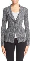 Armani Collezioni Women's Herringbone Jacquard Jacket