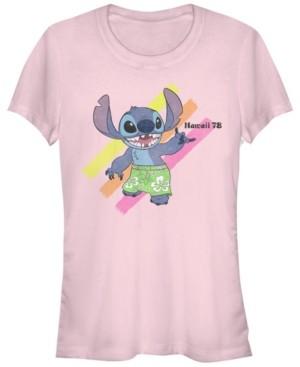 Fifth Sun Women's Disney Stitch Shaka Short Sleeve T-shirt