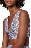 Topshop Petite Women's Corded Lace Bralette