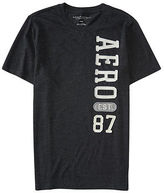 Aeropostale Mens Aero 87 Logo Graphic T Shirt