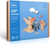 GIGI BLOKS Cardboard Building Set - Set of 100 blocks