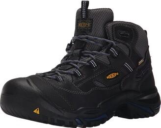 Keen mens Braddock Mid Soft Toe Waterproof Work Boot