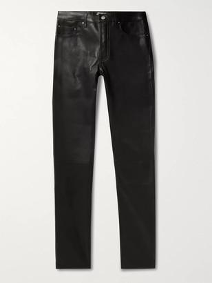 Amiri Skinny-Fit Leather Trousers