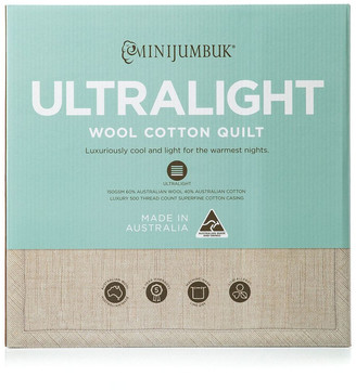 MiniJumbuk Ultralight Wool/Cotton Quilt