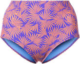 Diane von Furstenberg Tropical print bikini bottoms