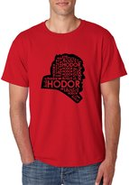 Allntrends Men's T Shirt Hodor Faces (M, )