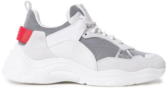 IRO Curve Runner Mesh, Suede And Leather Sneakers