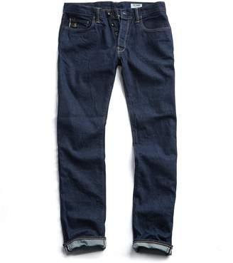 Todd Snyder Slim Fit Japanese Stretch Selvedge Jean in Indigo Rinse