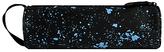 Mi-Pac Splatter Print Pencil Case, Black/Blue