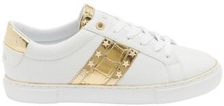 GUESS Grayzin White/Gold/Gold Sneaker