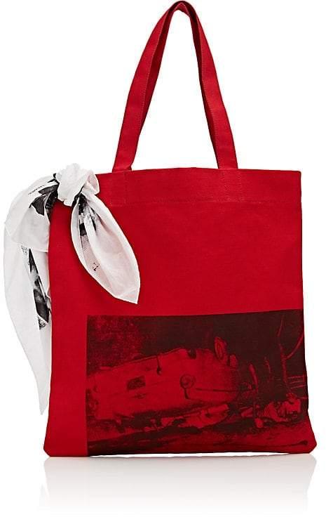 Calvin Klein Men's Canvas Tote Bag