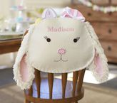 Pottery Barn Kids Pink Gingham Bunny Chairbacker