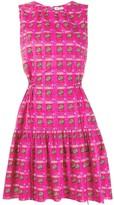 Kenzo Logo Print Sleeveless Dress