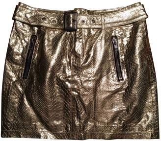 April May Gold Skirt for Women