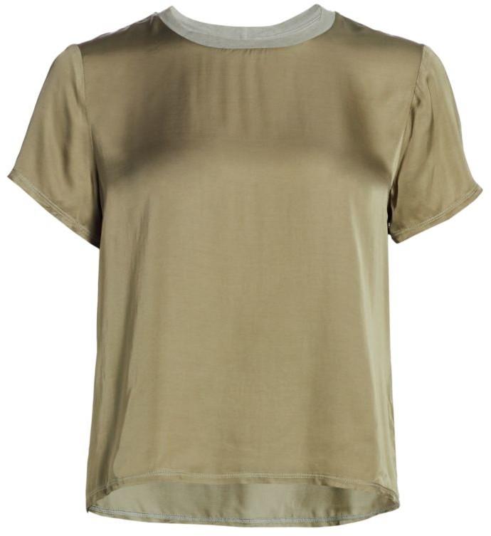 Nation Ltd. Marie Sateen T-Shirt