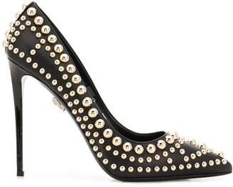 Philipp Plein Studded High-Heel Pumps