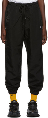 Marcelo Burlon County of Milan Black Cross Lounge Pants