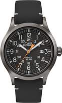Timex Men's TW4B01900GP Expedition Dial Leather Strap
