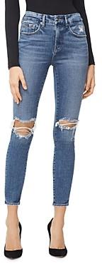 Good American Good Legs Ankle Skinny Jeans in Blue261