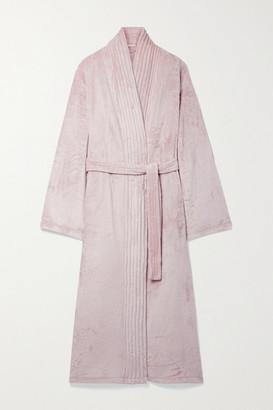Eberjey Chalet Velour Robe - Blush
