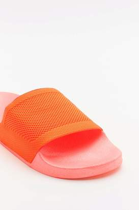 Nasty Gal Womens Welcome To The Dark Slide Sliders - Orange - 3