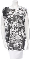 Stella McCartney Panther Print Sleeveless Top w/ Tags
