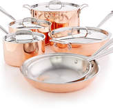 Martha Stewart Collection Tri-Ply Copper 10-Pc. Cookware Set, Created for Macy's