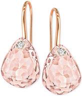 Swarovski Multi-Faceted Crystal Drop Earrings