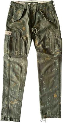 Denim & Supply Ralph Lauren Khaki Cotton Jeans