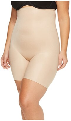 Spanx Power Conceal-Her High-Waisted Mid-Thigh Short (Natural Glam) Women's Underwear