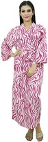 ibaexports Indian Kimono Women Crossover Robe Bride Getting Ready Cotton Robes Wedding Favors