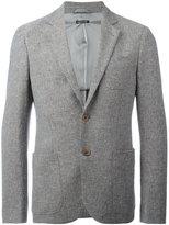 Giorgio Armani classic blazer - men - Cotton/Polyester/Spandex/Elastane/Viscose - 48