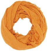 Charlotte Russe Fringe-Trim Infinity Scarf