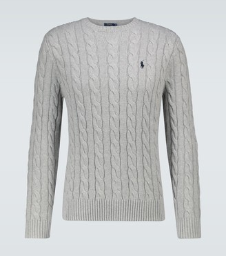 Polo Ralph Lauren Cotton cable knitted sweater