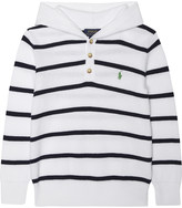 Ralph Lauren Striped knitted cotton hoody 2-7 years
