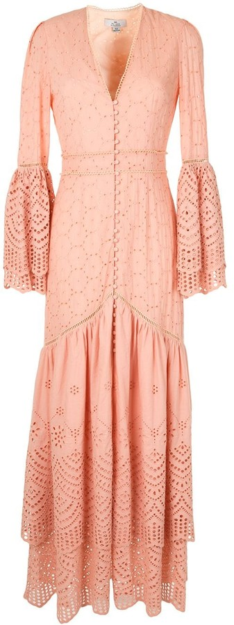 We Are Kindred Lua broderie anglaise gown