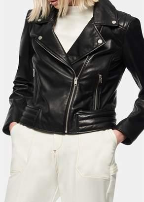 Andrew Marc Grange Leather Moto Jacket