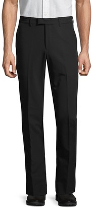 Nhp Extra Slim-Fit Solid Flat Front Trousers