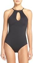 Becca Women's 'Color Code' Cutout One-Piece Swimsuit